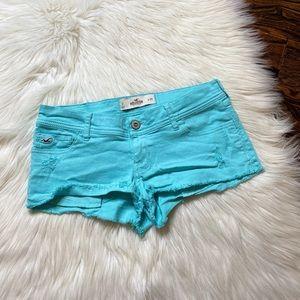 Hollister Teal shorts